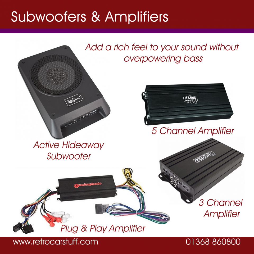 Classic Car Stereo Uk Full Range Retrocarstuff Wiring Two Speakers Dvc Are Sold Singly And Have Input Connections Svc In Pairs For Your