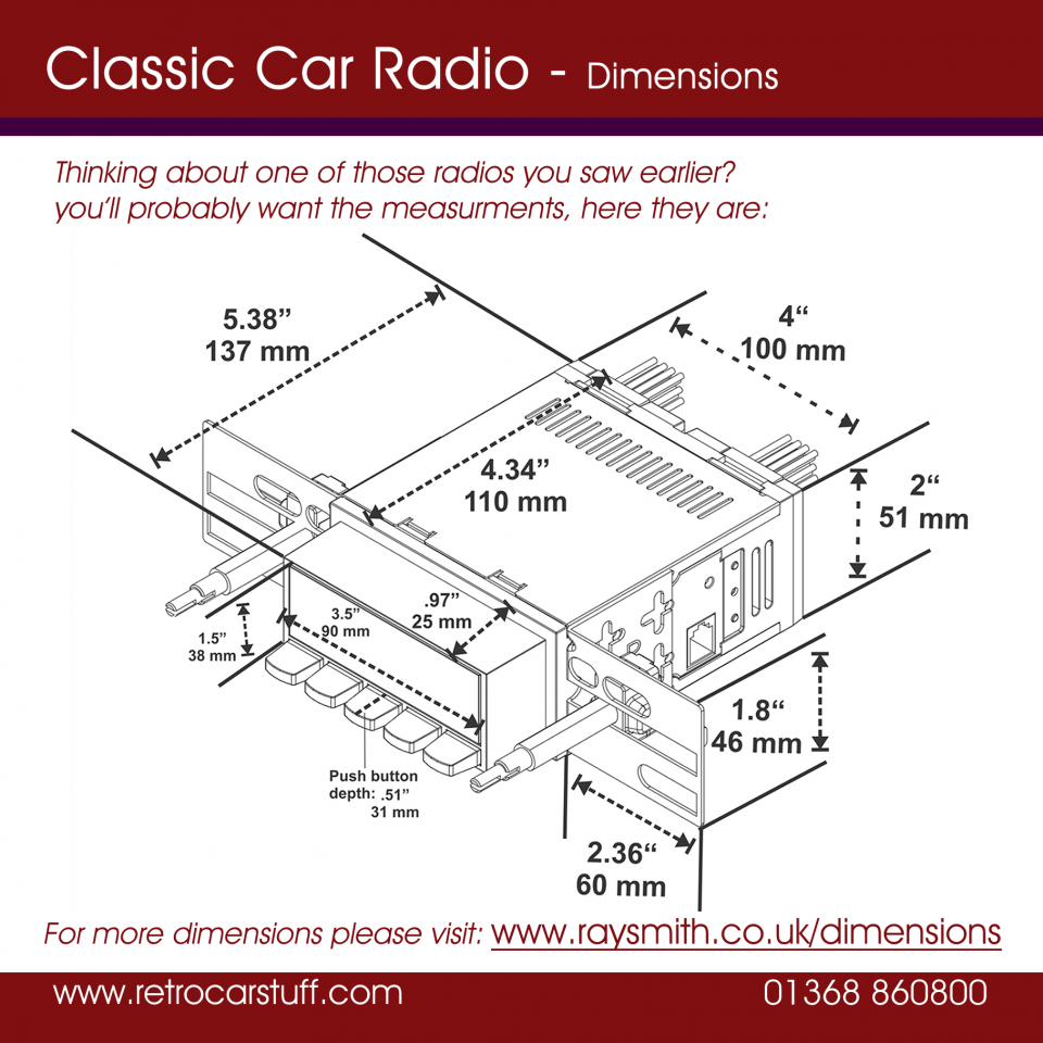 Classic Car Stereo Uk Full Range Retrocarstuff Parallel Speaker Wiring On Dual Voice Coil Speakers In Series For Come Single Or Configurations Dvc Are Sold Singly And Have Two Input